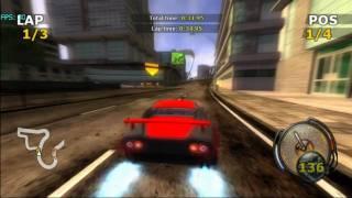 FlatOut on Dolphin v2.0 - Nintendo Wii Emulator