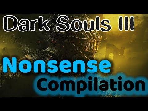 Dark Souls 3 Compilation - Limbo Jesus, Shotel Parry, and Failed Soul Streams