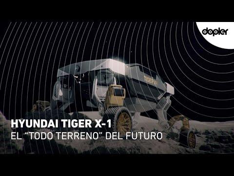 Hyundai Tiger X-1: El nuevo vehículo todo terreno robotizado