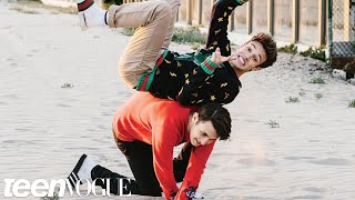 Cameron Dallas and Anwar Hadid's Teen Vogue Cover Shoot