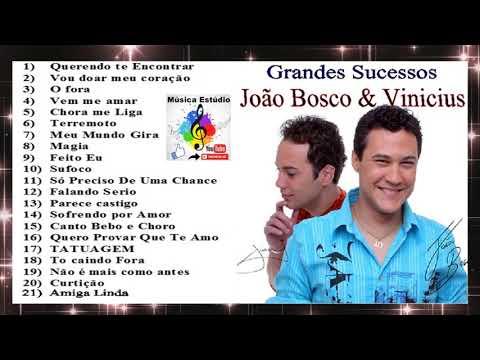 João Bosco e Vinícius - Os Grandes Sucessos - cd completo
