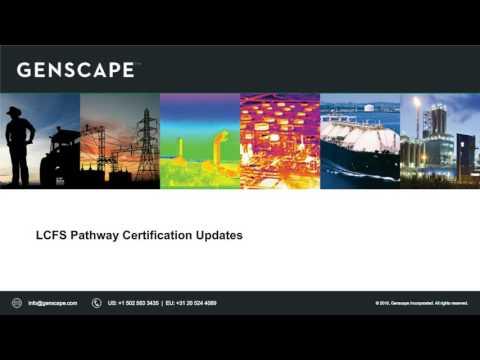 LCFS: Understanding New Market Opportunities & Potential Barriers