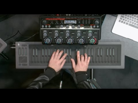 """Marco Parisi plays Jimi Hendrix's """"Little Wing"""" on the Seaboard RISE at Musikmesse 2016"""