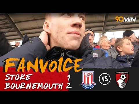Stoke City 1-2 Bournemouth | Surman and Stanislas goals give Bournemouth victory! | 90min FanVoice