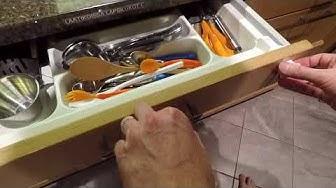 Tosi kätevä magneetilla aukaistava lapsilukko laatikoihin
