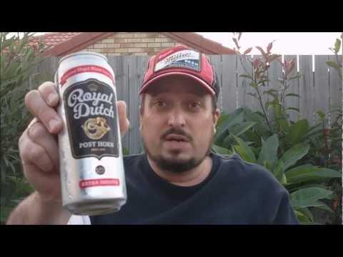 Royal Dutch Post Horn 4.3% ABV - SwillinGrog Beer Review