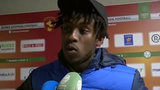 VIDEO: Après Rodez - HAC (1-2), réaction de Tino Kadewere