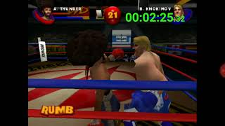 Ready 2 Rumble Boxing Round 2 N64 Speedrun World Record in 4:47.57