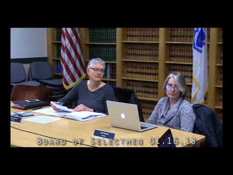Board of Selectmen 01.16.18
