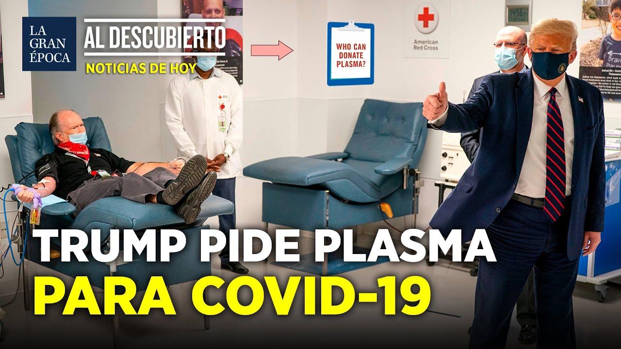 Trump pide donaciones de plasma sanguíneo para combatir la COVID-19 | La Gran Época