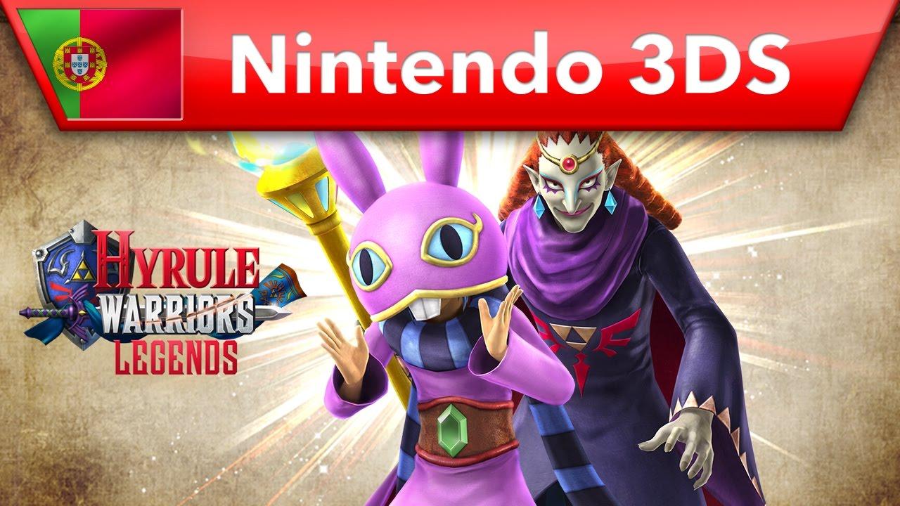 Hyrule Warriors Legends Trailer Dos Conteudos Adicionais A Link Between Worlds Nintendo 3ds Youtube