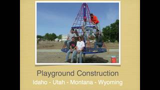 Playground Equipment Installation Boise Idaho: Luckydog Recreation Playground Construction