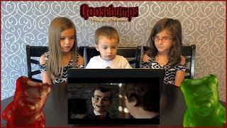 Goosebumps 2 Haunted Halloween Trailer Kids Reaction