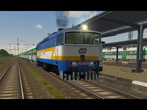 Microsoft Train Simulator - trať BP   Sp 1766 Brno - Žďár n. S. (zs_09_Sp1766) Ep. 2 - YouTube