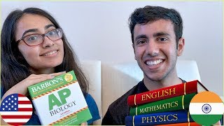 High School: Studying in India vs Studying in USA | #CousinRoasted