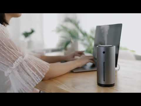 Новый стильный портативный увлажнитель воздуха для авто фирмы Baseus за 17$