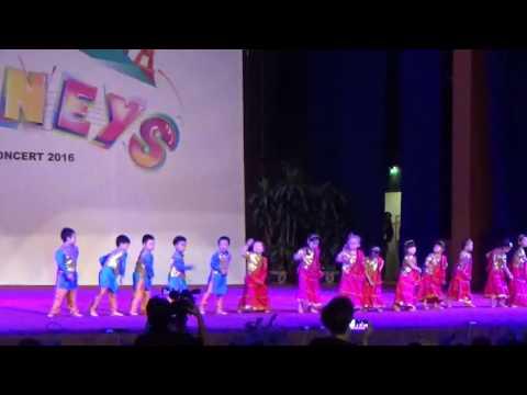 SIS @ Ciputra concert 20161 K2Int dance Aaj ki party