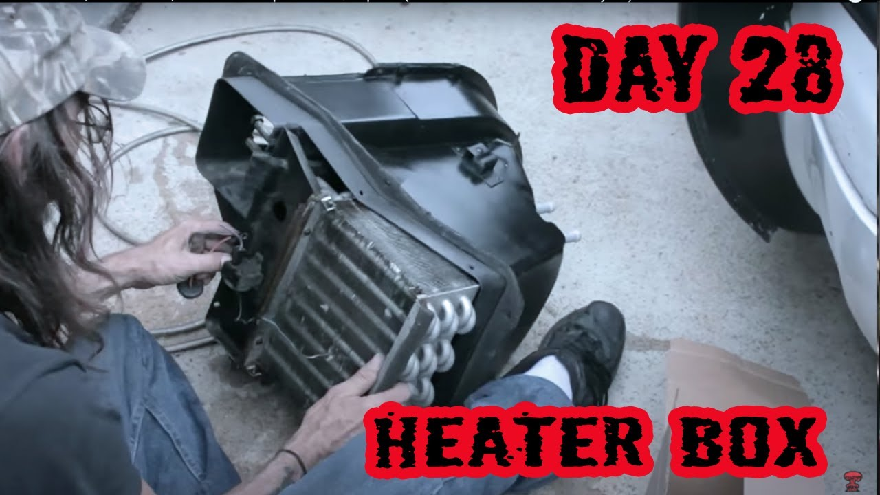 Blower Motor Heater Core Box Replacement Repair 1973 1967 F100 Wiring Diagram Ford Rebuild Day 28