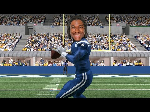 WHAT IF RGIII WAS DRAFTED BY THE COLTS?!