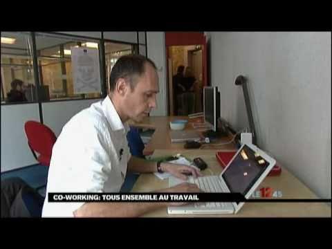 Video Coworking Lyon - L'Atelier de médias- reportage M6 tendances travail