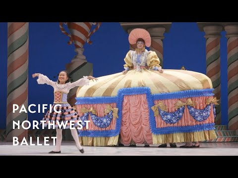 Mother Ginger in George Balanchine's The Nutcracker® (Pacific Northwest Ballet)
