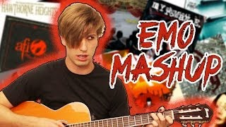 15 Most Emo Songs Ever - One Minute Mashup #28