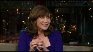 Vera Farmiga on Late Show with David Letterman