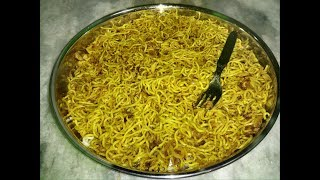 Dry Maggi prepared in different Style Very tasty...