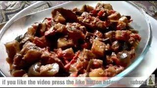Eggplant (brinjal) 30 minute delicious recipe || delicious saucy eggplant easy recipe