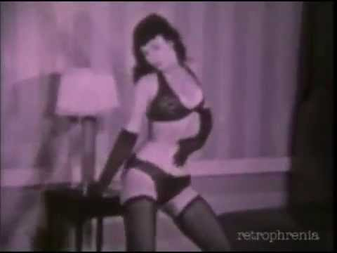 Bettie Page dances to 'Rumble' by Link Wray