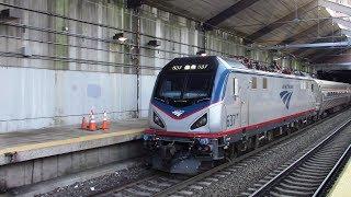 Amtrak & MBTA Railfanning on My Birthday at Boston Back Bay