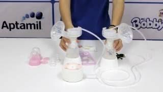 Cách sử dụng Máy hút sữa điện đôi Unimom Minuet có pin sạc