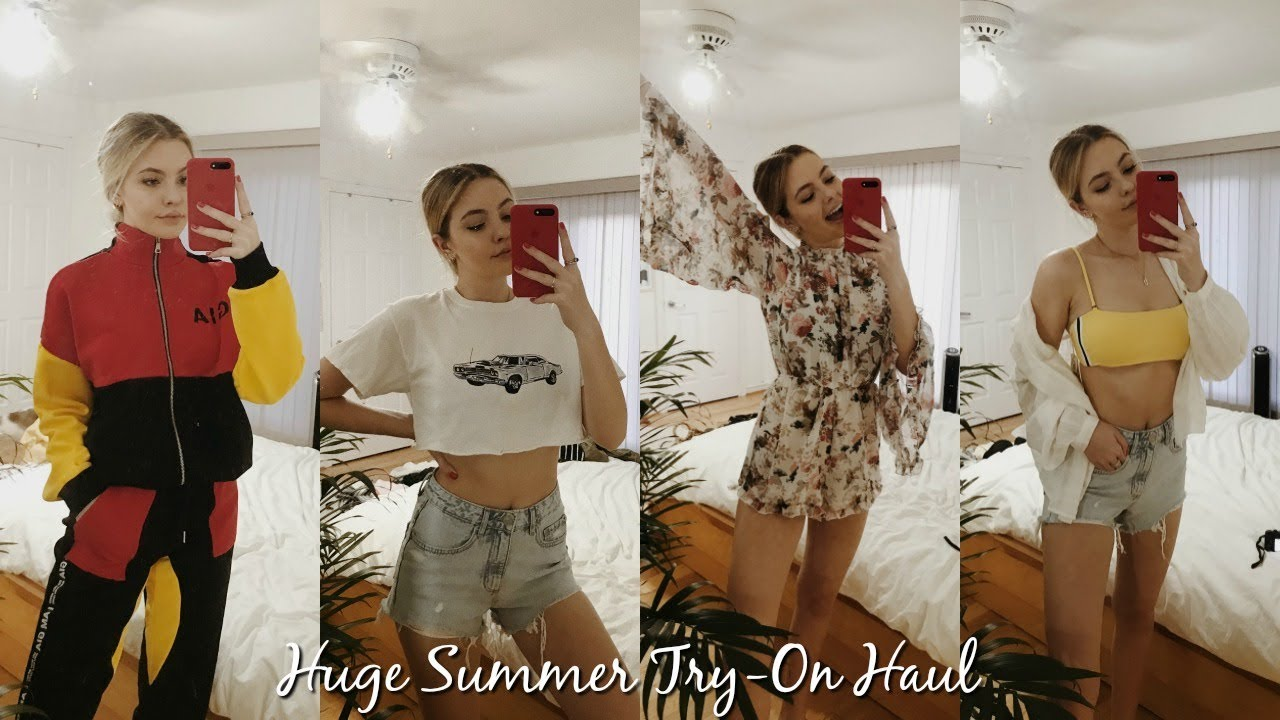 43fc7a163 HUGE SUMMER TRY-ON HAUL // URBAN, BRANDY, I.AM.GIA + MORE