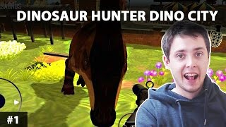 DINOSAUR HUNTER DINO CITY 2017 GAMEPLAY PL PO POLSKU