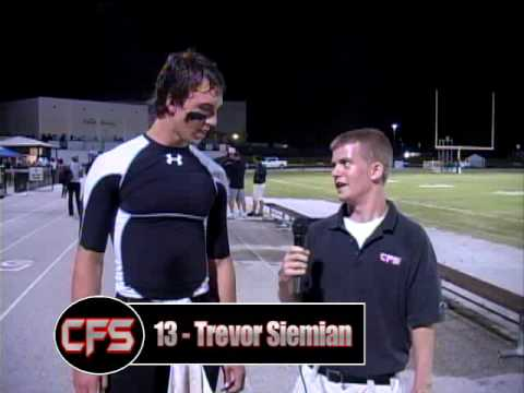 Trevor Siemian Postgame Interview - Olympia 26 Boone 7