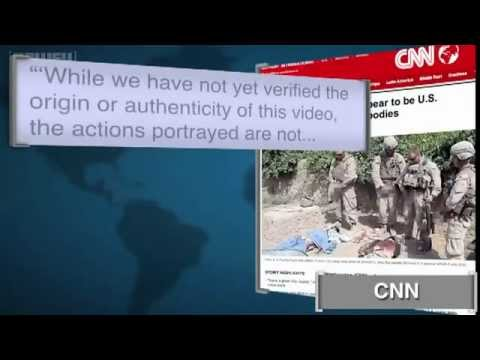 US Marines Desecration of Taliban Dead Bodies- An Act against Geneva Convention - YouTube.webm