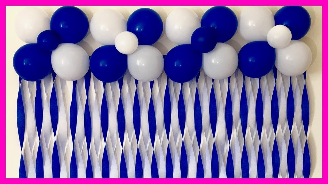 Very Easy Birthday Decoration | Very Easy Balloon ...