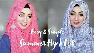 Easy & Simple Summer Hijab Look with Modressty | Pari ZaaD