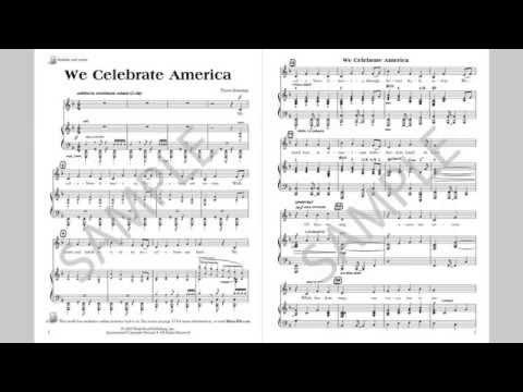 We Celebrate America - MusicK8.com Singles Reproducible Kit