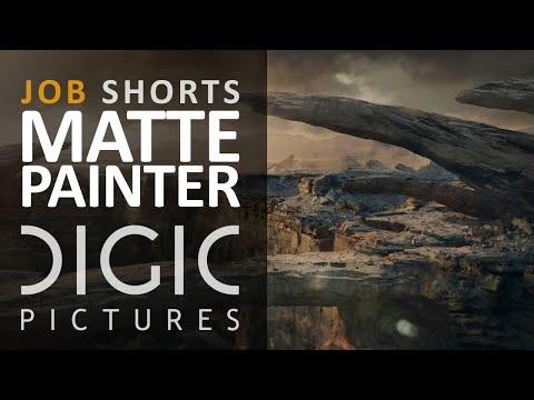 DIGIC Job Shorts - Matte Painter