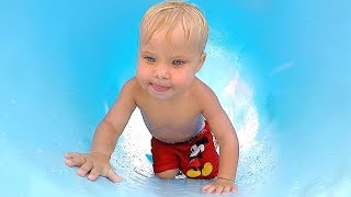 TODDLER TRAPPED IN WATERPARK! thumbnail
