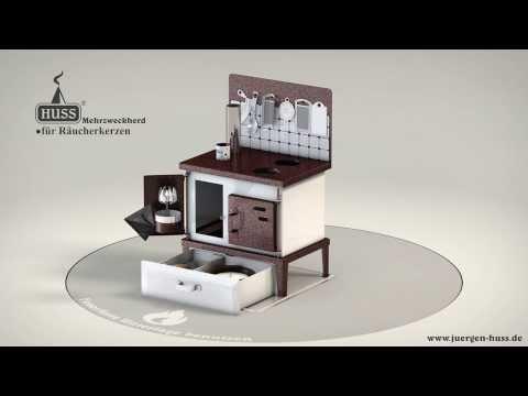 HUSS Incense Multi-Purpose Oven