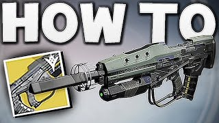 "Destiny - HOW TO GET ""NO TIME TO EXPLAIN"" EXOTIC !!"