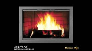Heritage Fireplace Glass Doors - Shorter Video
