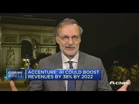 Accenture: A.I. could boost revenues by 38 percent by 2022 Mp3