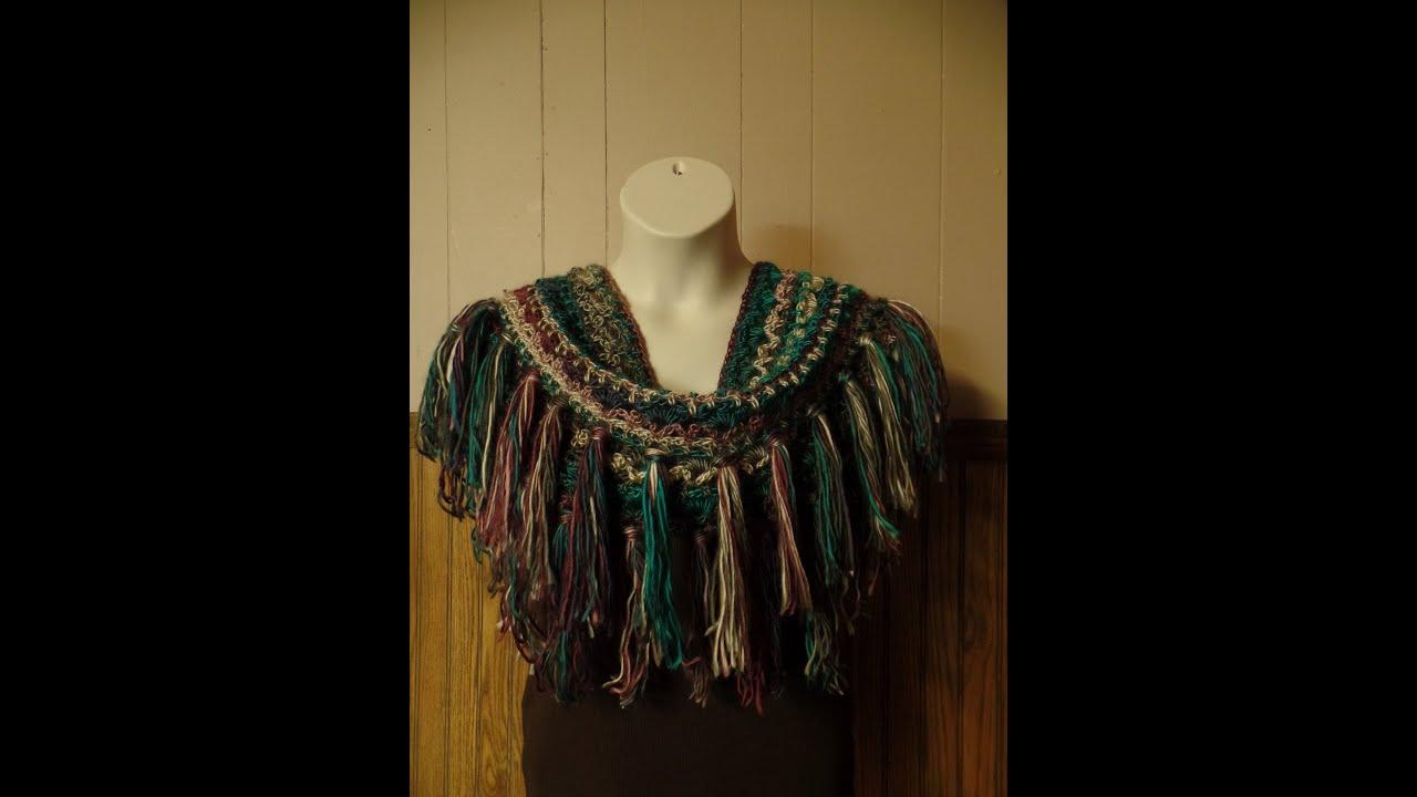 Crochet How To Crochet Fringe Infinity Scarf Harriet Lace