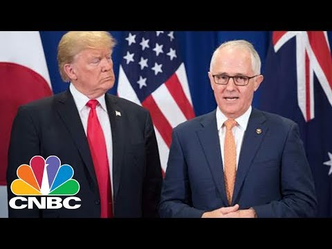 LIVE: President Donald Trump Meets With Australian Prime Minister - Friday Feb. 23, 2018   CNBC