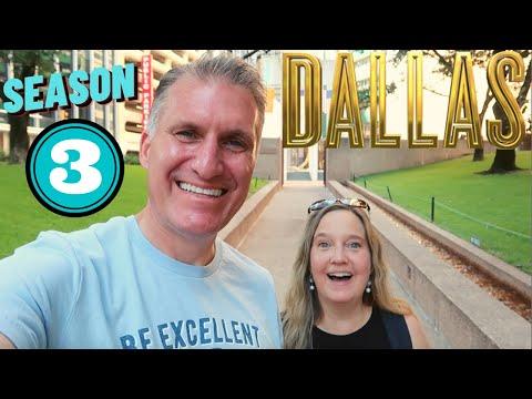 Dallas TV Show Filming Locations | Season 3 | THEN & NOW Dallas, Texas