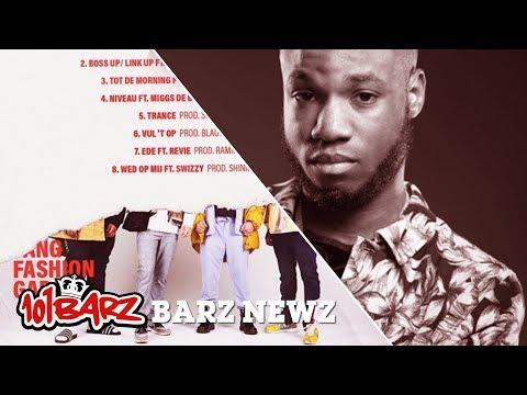 Tracklists voor de debuut-EP's van YFG & Jayboogz - Barz Newz