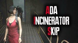 Resident Evil 2 Remake - Ada Incinerator Skip (Leon A Speedrun Skip)
